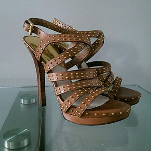Michael Kors ST13L Studded, Strappy Sandals